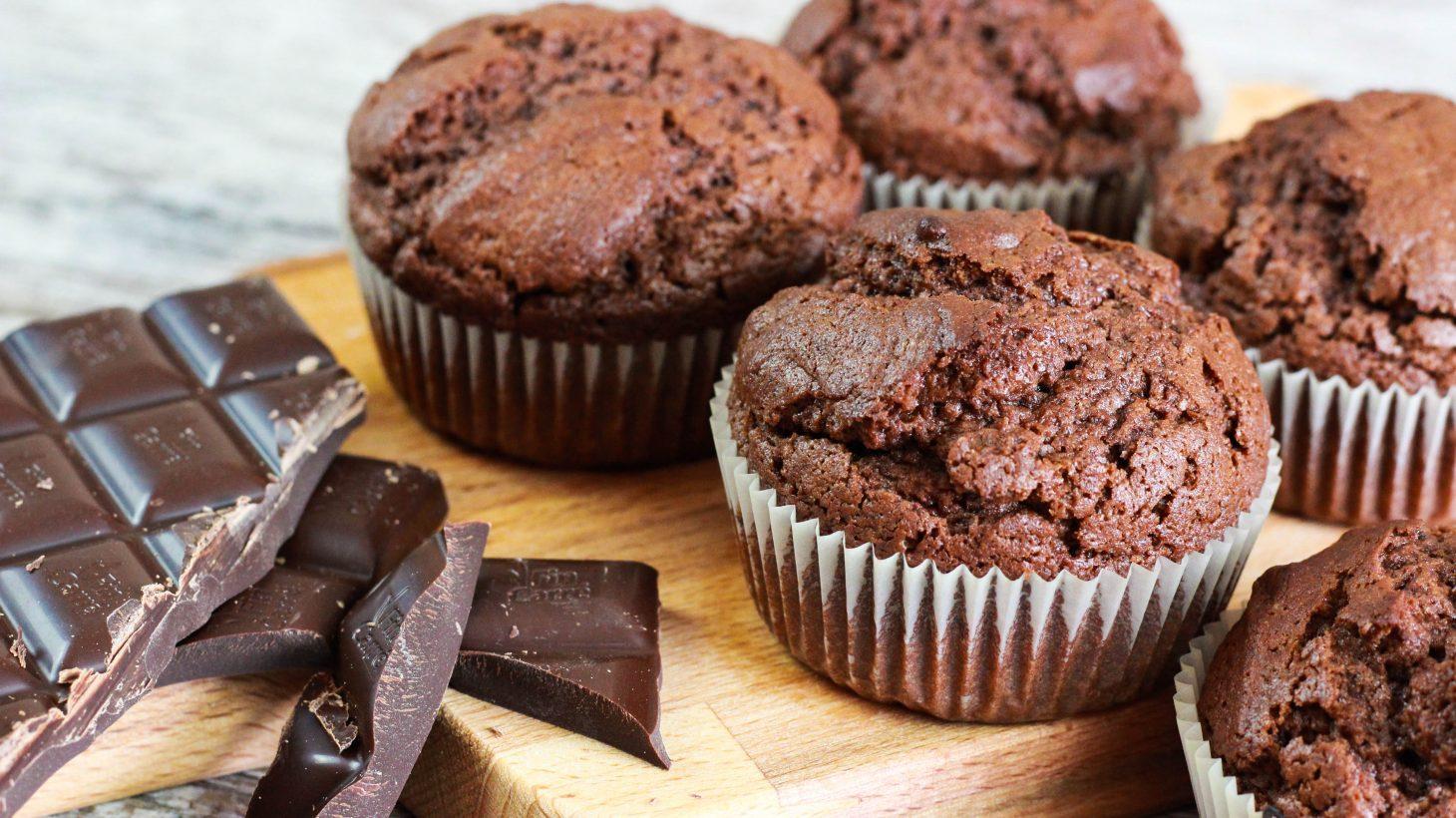 saftige schoko muffins cook bakery. Black Bedroom Furniture Sets. Home Design Ideas