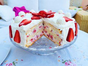 Erdbeer Raffaello Torte Cook Bakery
