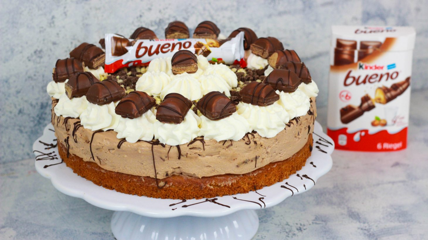kinder bueno torte haselnuss torte cook bakery. Black Bedroom Furniture Sets. Home Design Ideas