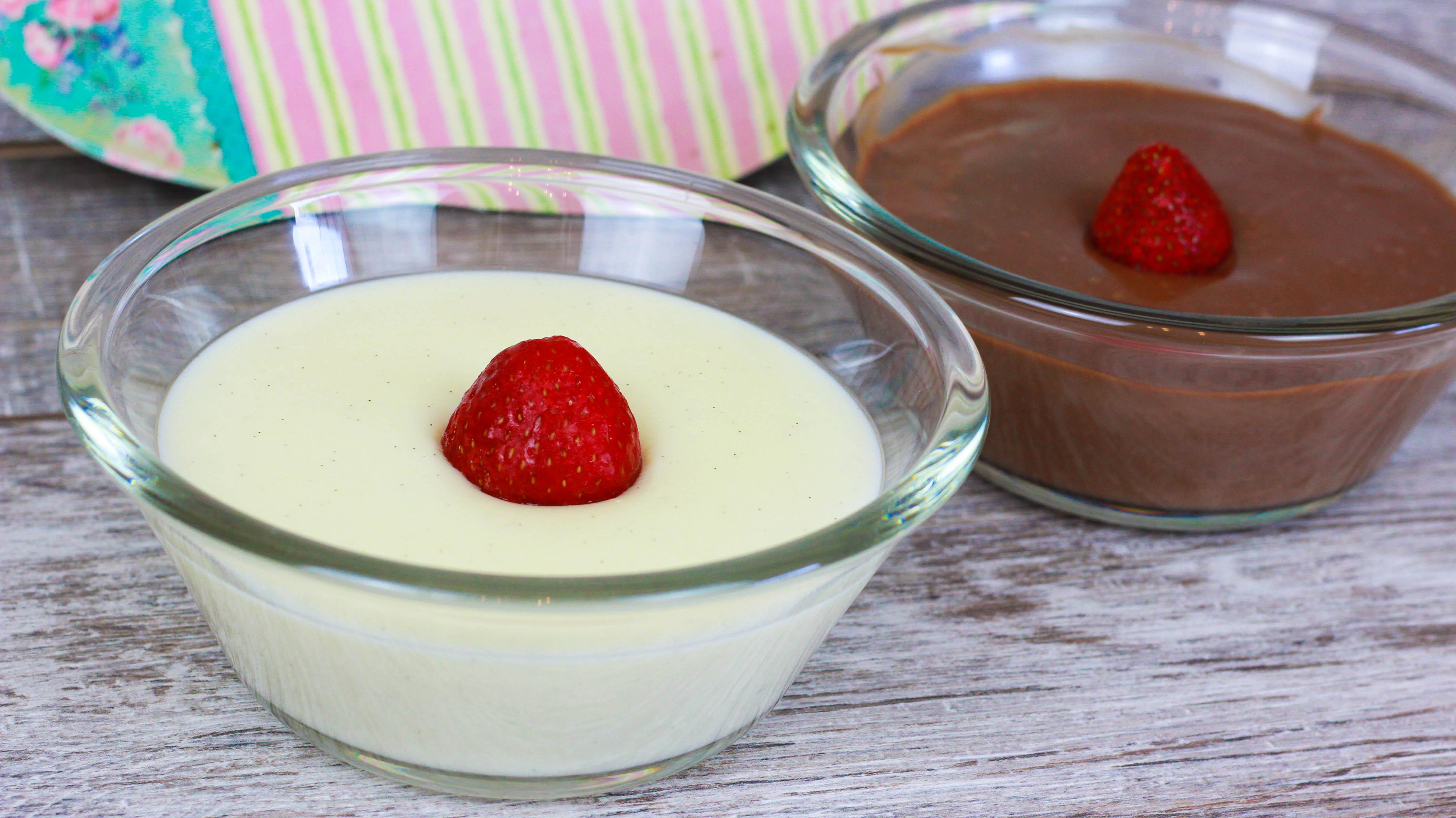 Pudding Ohne Ei Muhallebi Cook Bakery