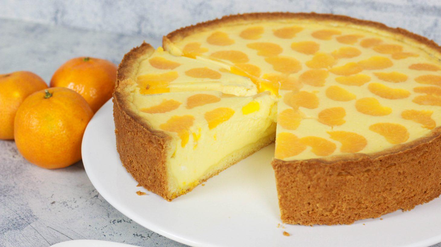 Kasekuchen Mit Mandarinen Faule Weiber Kuchen Cook Bakery