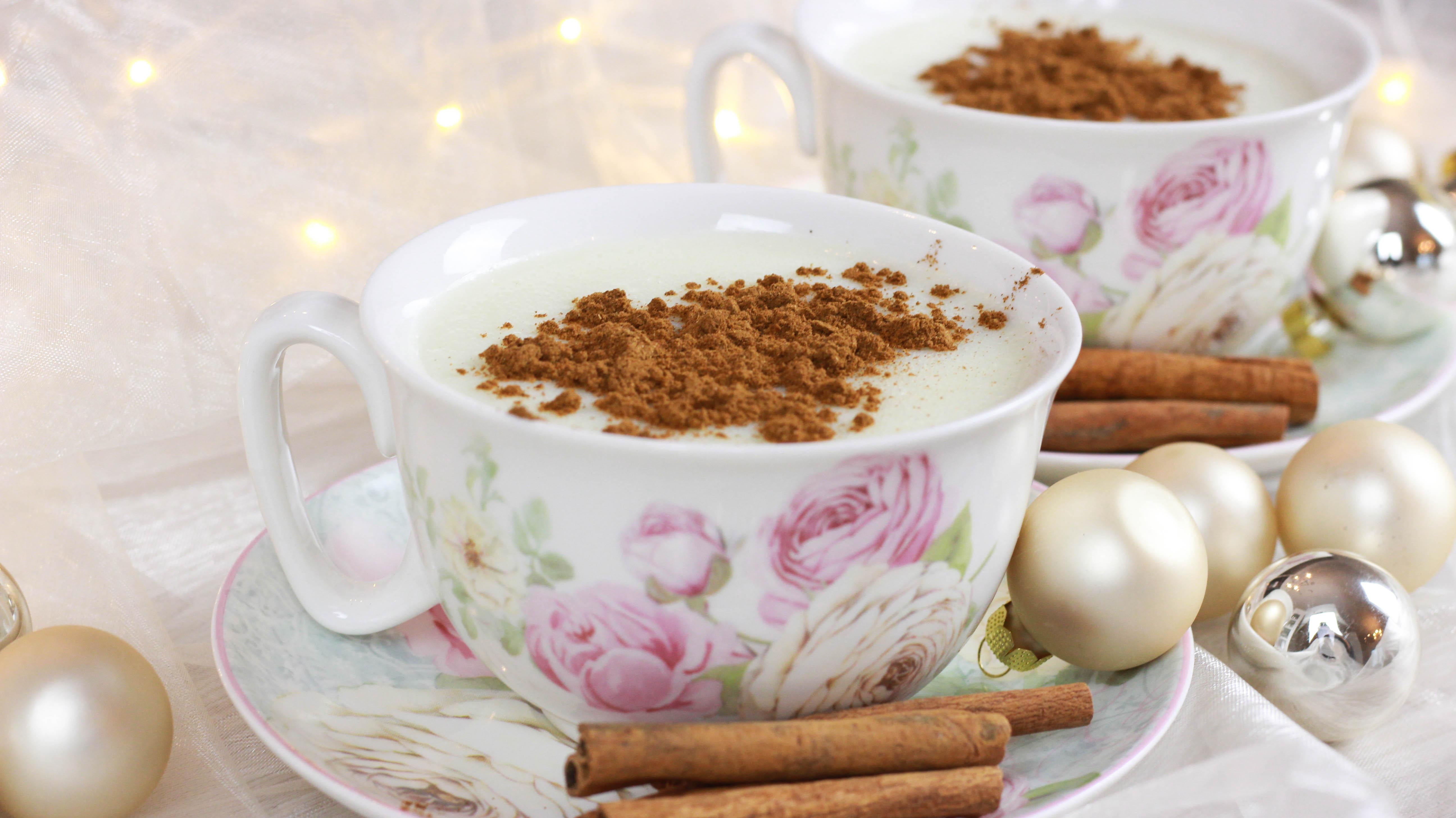 Salep – Türkisches heißes Milchgetränk mit Zimt - Cook Bakery