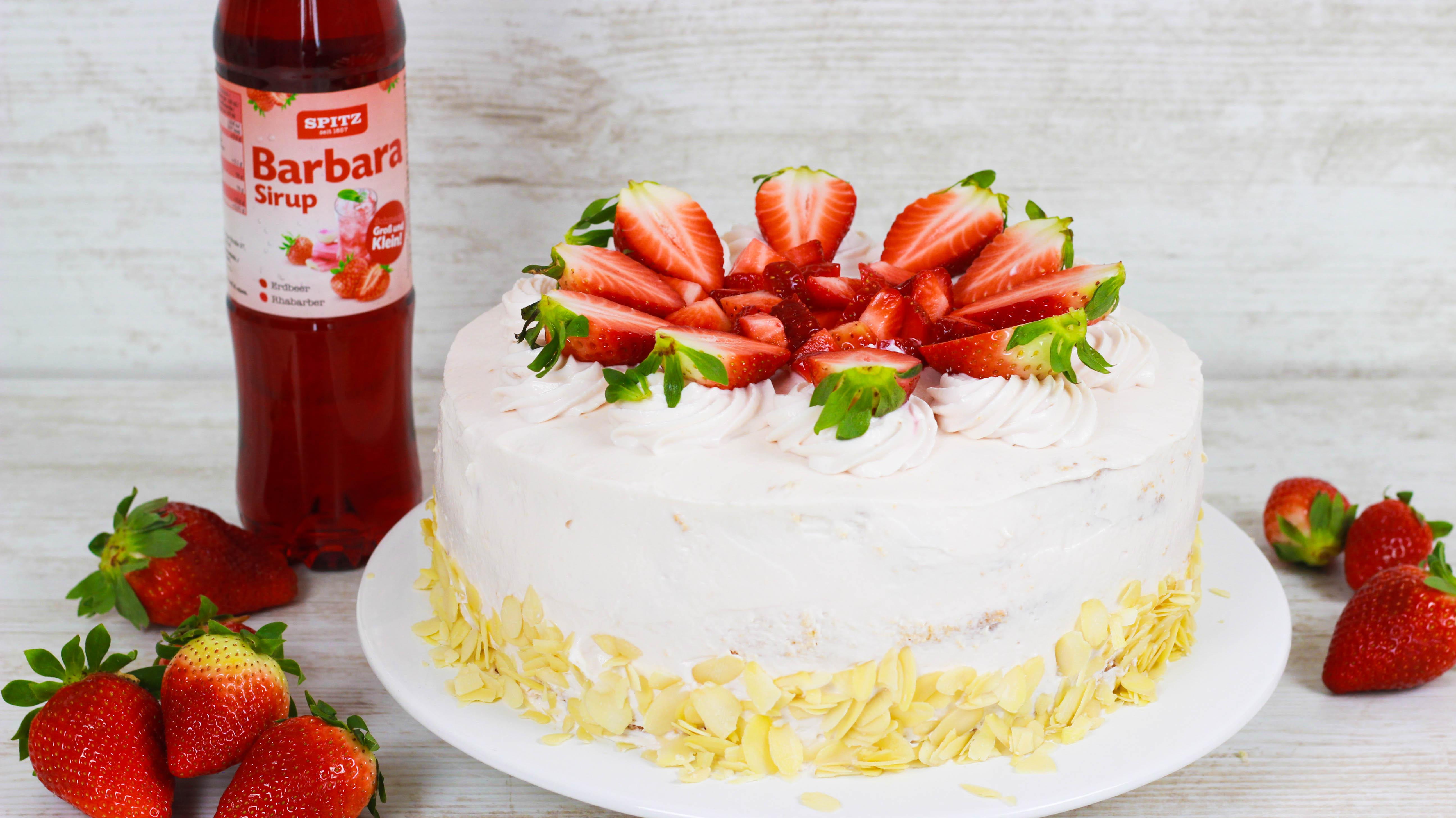 Erdbeer Sahne Torte Cook Bakery