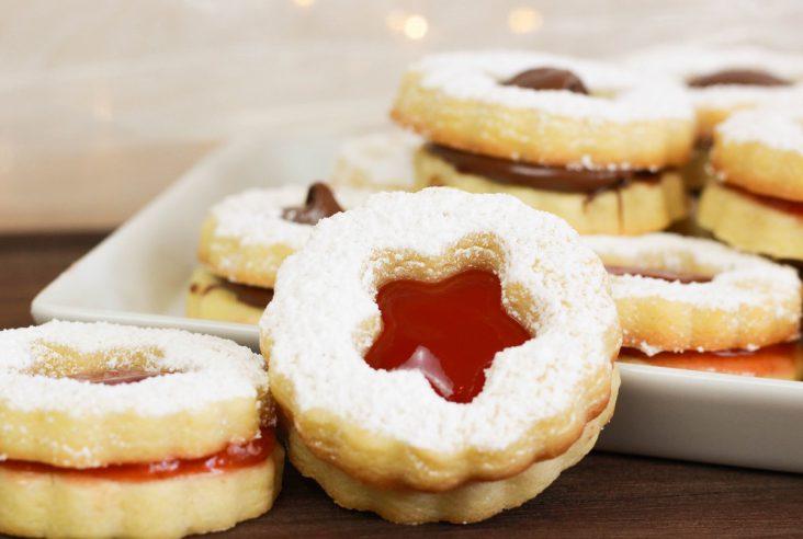 Linzer Weihnachtsplätzchen.Linzer Plätzchen Archive Cook Bakery
