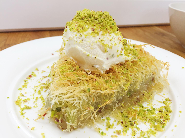 Turkische Sussspeise Mit Pistazien Kadayif Tatlisi Cook Bakery