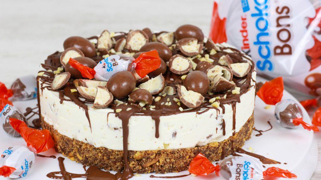 kinder schoko bon torte ohne backen cook bakery